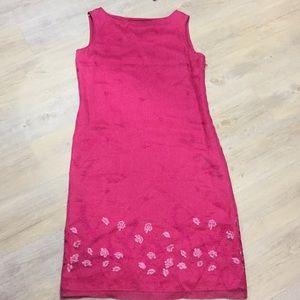 Dana Buchman silk dress